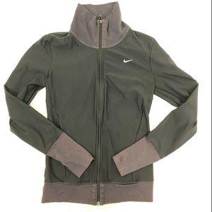 Nike Turtle Neck Athletic Running Zip Up Jacket XS